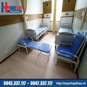 Giường gấp y tế nằm ngồi đa năng