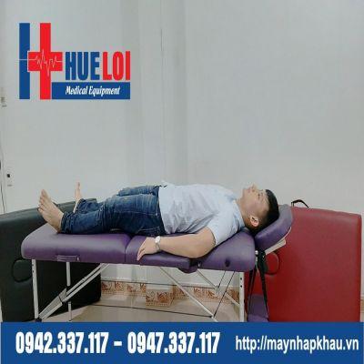 Giường châm cứu bấm huyệt dạng vali HL2