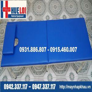 Giường massage 6 chân gấp gon dạng vali HL6