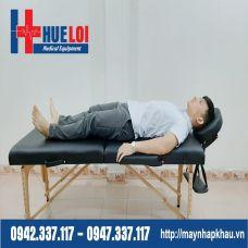 Giường Massage Gấp Gọn Chân Gỗ HL1