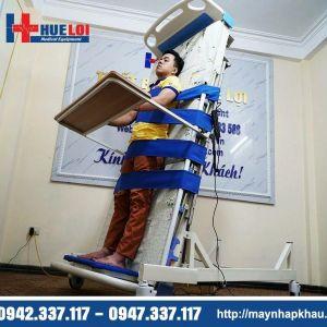 Giường y tế điện có chức năng tập đứng