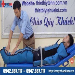Máy nén ép khí trị liệu cho bệnh nhân tai biến