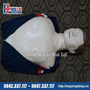 Mô hình cấp cứu ngừng tuần hoàn nửa người cơ bản