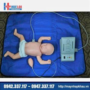 Mô hình thực tập cấp cứu ngừng tuần hoàn trên trẻ sơ sinh