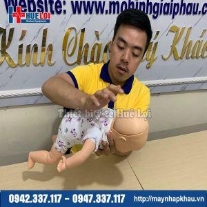 Mô hình thực hành cấp cứu dị vật đường thở ở trẻ em