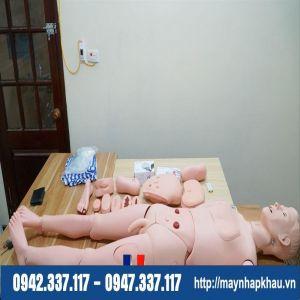 Mô hình thực hành điều dưỡng kèm đo huyết áp