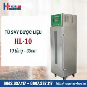 Tủ sấy thuốc bắc 10 tầng 30cm HL-10