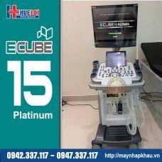 Máy Siêu Âm 4D Ecube 15 Platinum