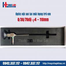 Optic nội soi tai mũi họng trẻ em 4mm