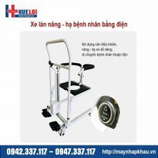 Xe lăn nâng hạ bệnh nhân bằng điện